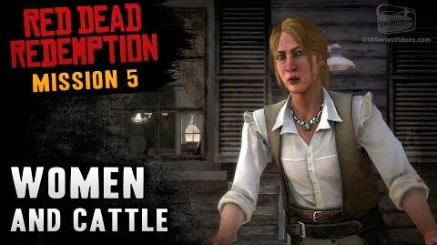 Red Dead Redemption - Mission 5 - Women and Cattle (Xbox One)