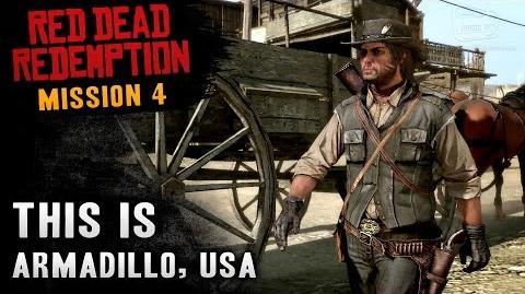 Red Dead Redemption - Mission 4 - This is Armadillo, USA (Xbox One)