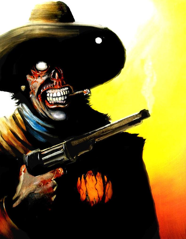 Zombie Cowboy by Tomoran
