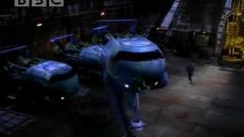 Blue midget dance - Red Dwarf - BBC comedy