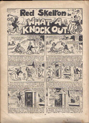 1954 Film Fun Annual - What a Knock Out