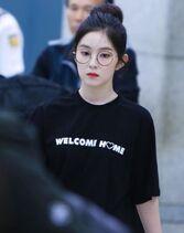 Irene Arriving at Incheon Airport 170611 4