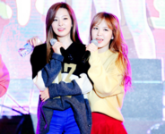 Seulgi and Wendy on stage 3