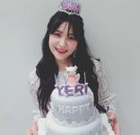 Yeri on her birthday 5