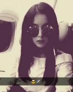 Irene Instagram Update on the plane