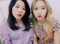 Seulgi and Yeri IG Update 12
