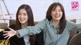 Seulgi and Irene Level Up Project Red Velvet