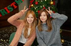 Seulgi and Wendy on Christmas