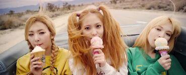 Ice Cream Cake MV