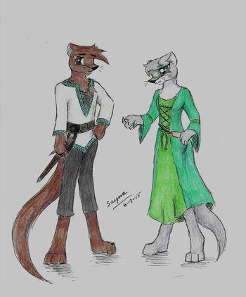 Simon and Olva