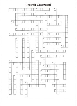 Redwall Crossword