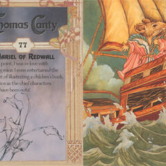 Thomas Canty Trading Cards #77 - Mariel of Redwall