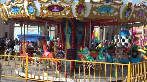 Animal World Carousel - Amusement Rides