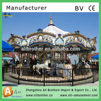 CE ISO9001 passed with factory carousel manufacturer