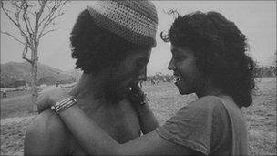 Bob Marley and Cindy