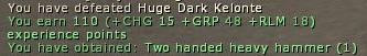 Mob Kill Log Message