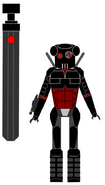 Sith assassin droid by jedimsieer