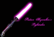 Padme s lightsaber by talesofafangirl