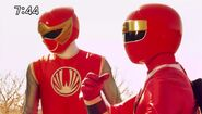 Red Ninja double in the past