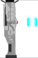 Plasma gun lightsaber by jedimsieer