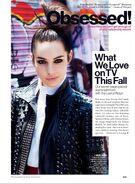 Glamor Magazine - Oct 2013