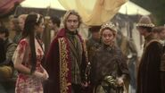 Coronation - 1 Mary Stuart n King Francis n Queen Catherine