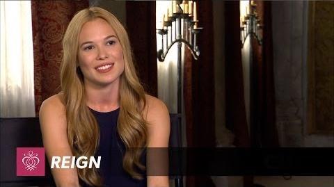 Reign - Celina Sinden Interview