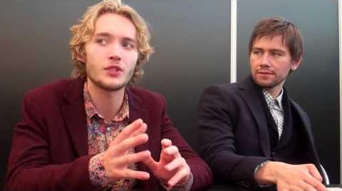 NYCC 2013 -- Toby Regbo & Torrance Coombs -- Fangirlish