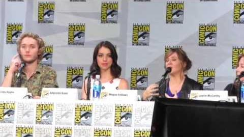 Reign Panel Part 4 Comic Con 2014
