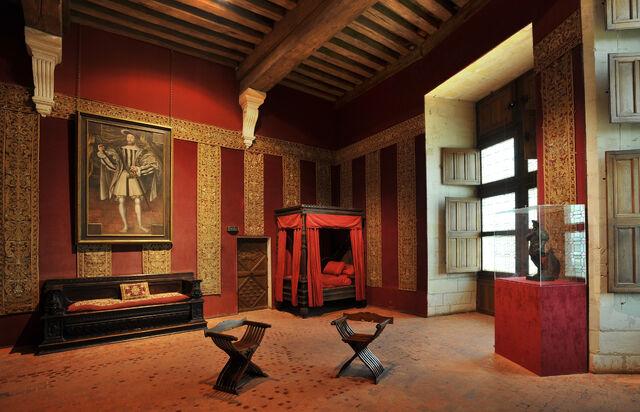 File:Chateau de Chambord Chambre de François 1er.jpg