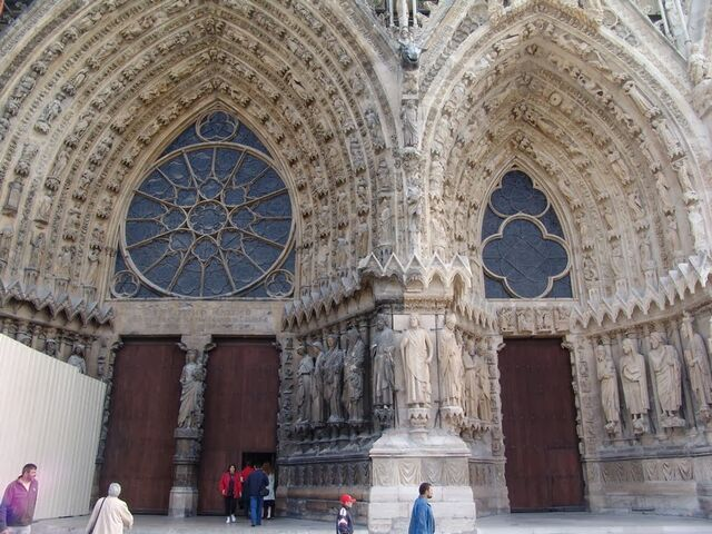 File:Reims Cathedral-Main Gate.jpg