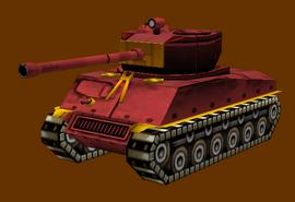Eurasian Sherman Tank