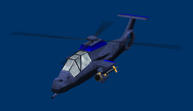 Boss Comanche Helicopter