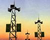 China Speaker Tower Icon