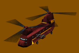 Eurasian Chinook Helicopter