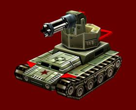 China Gatling Tank