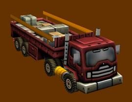 Eurasian Convoy Truck