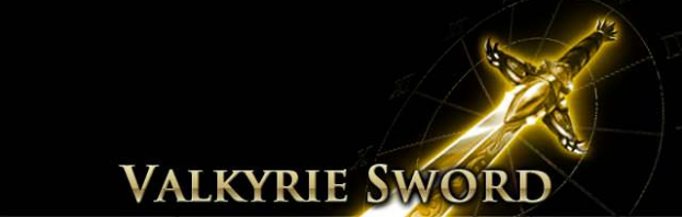 Valkyrie Sword Page Banner