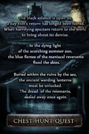 The Solstice of the Revenants Intro Page