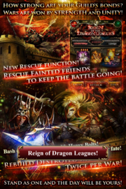 Reign of the Dragon Leagues Collage Ad
