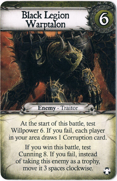 Black Legion Warptalon