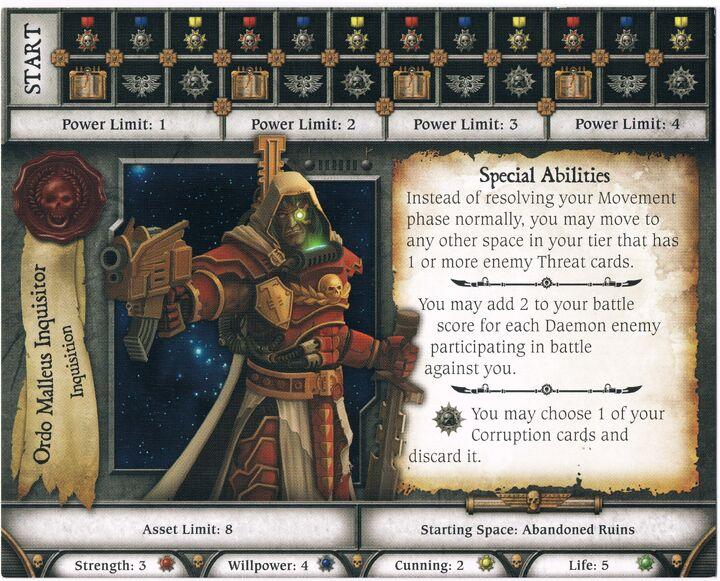 Ordo Malleus Inquisitor (Character)