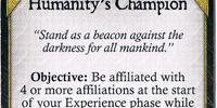 Humanity's Champion