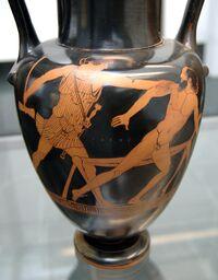 Theseus Prokroustes Staatliche Antikensammlungen 2325