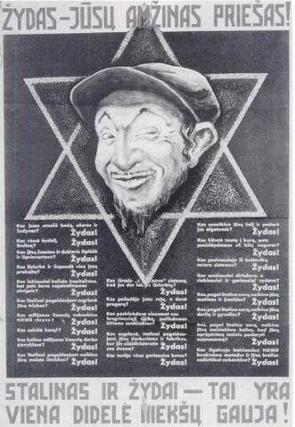 File:Nazi Lithuanian poster.jpg