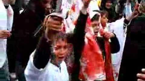 Kids at Ashura Procession - Nabatiyeh