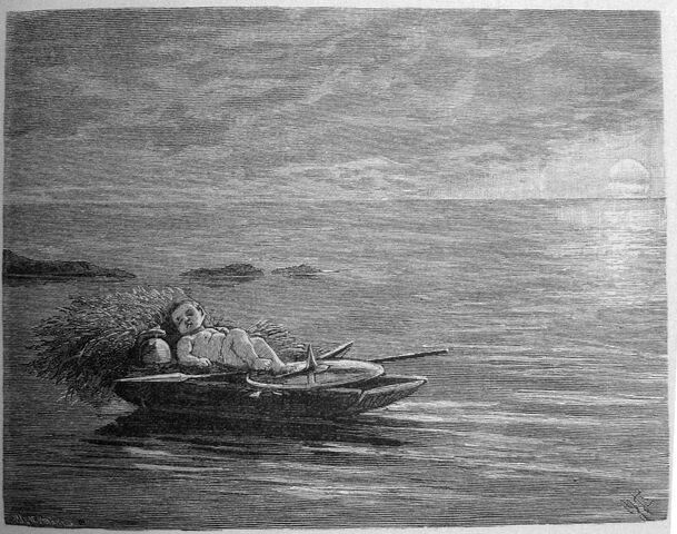 File:Gossen i båten.jpg