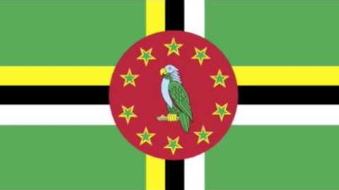 Dominica National Anthem on piano