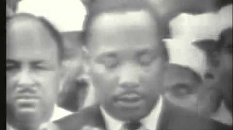 """I Have A Dream"" speech from Martin Luther King, Jr."