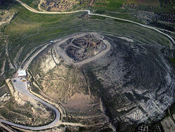 285px-Herodium from above 2